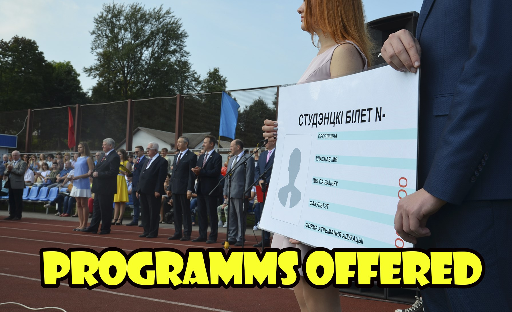 Programms Offered